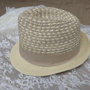 Fedora style hat. Danielle Meucci